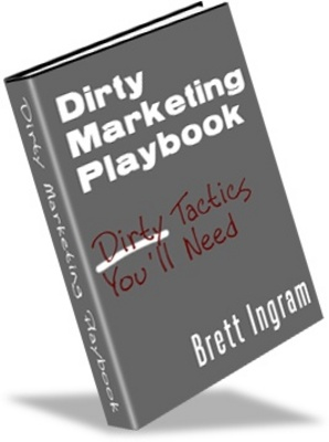 Product picture Dirty Marketing Playbook- make more money from your website